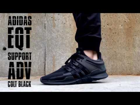 Adidas EQT Running Support OG (Black, Sub Green & White) END.