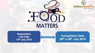WRO 2018 Food Matters   WRO Junior High   WRO Elementary