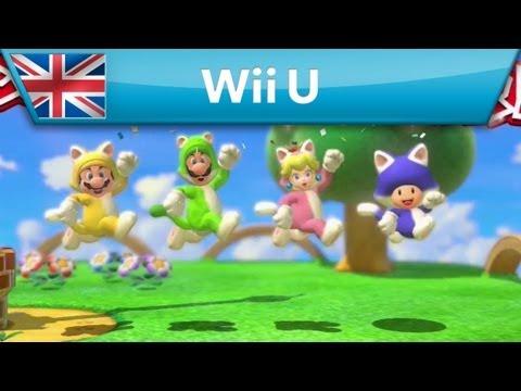 SUPER MARIO 3D WORLD - E3 2013 trailer (Wii U)