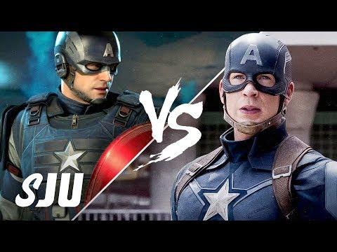 Avengers - Video Game vs The MCU | SJU