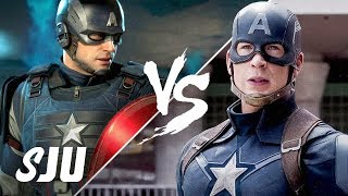 Avengers - Video Game vs The MCU | SJU