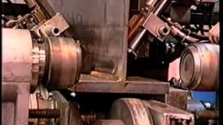 Автоматическая сварка под флюсом тавровых балок(Как происходит автоматическая сварка под флюсом тавровых балок., 2015-03-23T12:04:57.000Z)