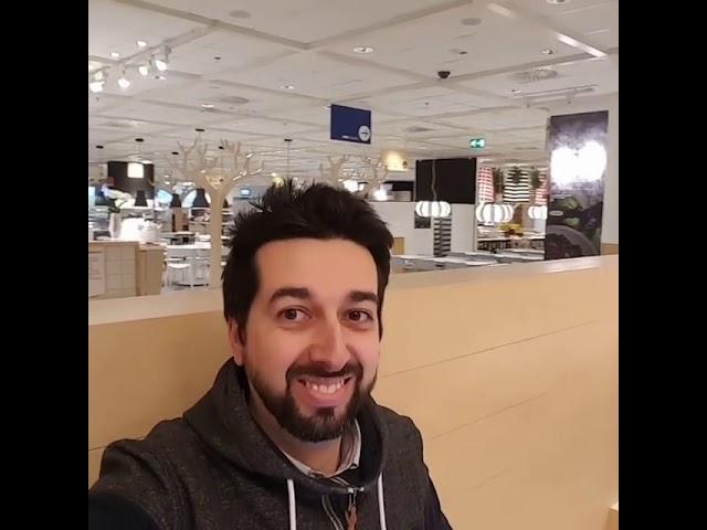 Ikea Baronissi a Salerno: 1 giorno con Ruggero Lecce - 1minutodiRug