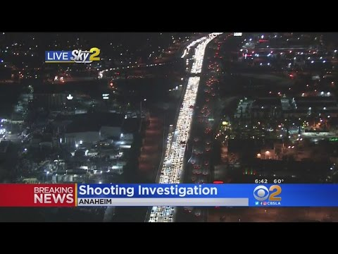 Shooting Investigation On 91 Freeway  Backs Up Traffic For Miles