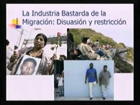 La industria de la migración. (SEPMIG 2012)