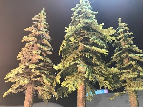 Miniature Terrain Tutorial- Advanced Pine Trees