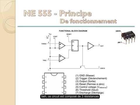 7. TUTO sur le circuit intégré NE555 Vostfr