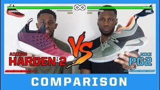 ADIDAS HARDEN VOL. 2 VS NIKE PG2 PERFORMANCE COMPARISON