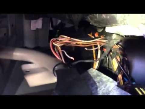 E500, License plate light problem -Left side only - YouTube