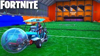 BALLER ROCKET LEAGUE in Fortnite Creative (Codes in Comments) FORTNITE LEAGUE