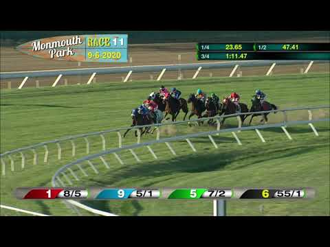video thumbnail for MONMOUTH PARK 09-06-20 RACE 11