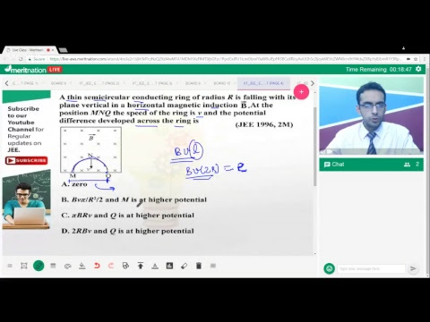 Meritnation JEE Bytes (Physics): Electromagnetic Induction-1