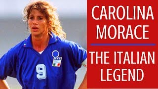 Carolina Morace : The Italian Legend ☆ Goals & achievements [ENG SUB]