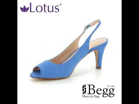 839166f216 Lotus Zaria Pale blue Slingback Shoes - YouTube