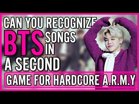 CAN YOU RECOGNIZE 20 BTS SONGS IN 1 SECOND