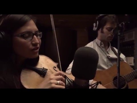 """Brooklyn-based Cricket Tell the Weather, a folk roots project of fiddler/singer/songwriter Andrea Asprelli, performs """"Photographs."""""""