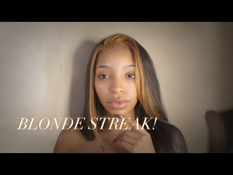 HOW TO: Blonde Streak/Section In The Front 💆🏽