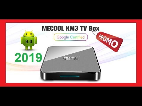 2019 MECOOL KM3 Android 9 0 Voice Control TV Box Google Certification