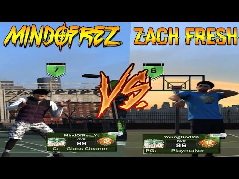 PLAYING AGAINST ZACH FRESH @ MOUNTAIN DEW TOURNEY | I GOT CHEATED OFF MY BOOST NBA 2K17!