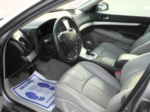 2008 Infiniti G35 Sedan Xenon Headlights Bose Sound System Tiptronic Premium Wheels Heated Seats