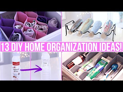 13-clever-diy-home-organization-ideas!