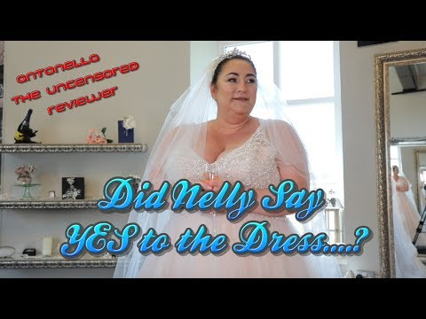 Did Nelly say YES to the Dress...?
