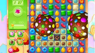 Candy crush jelly level 521 2x loose then a WIN