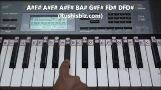 Kadhalar Dhinam/Premikula roju (BGM) Basic - Piano Tutorials   1200 NOTES - 7013658813 - WHATSAPPUS
