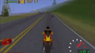 Road Rash 64 (Gameplay)