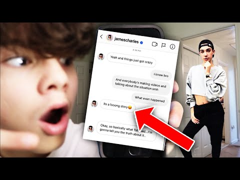 I SENT A DM TO THE REAL JAMES CHARLES!! (OMG HE ACTUALLY RESPONDED) Mp3