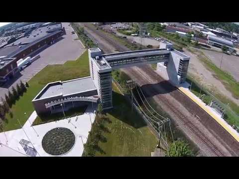 Troy Transit Center Aerial