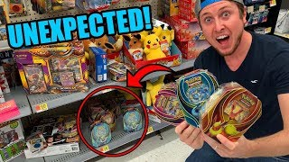UNEXPECTED NEW EEVEELUTION POKEMON CARD TINS FOUND! Opening All Three