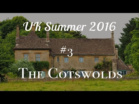 UK Vlog #3 Hiking in The Cotswolds