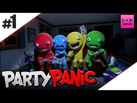 #1【生放送】三人称+標準のParty Panic【steam】