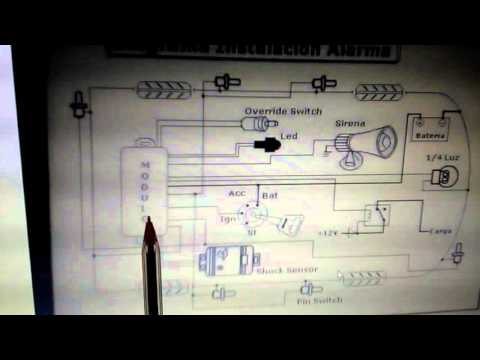 Como conectar alarma sin manual o diagrama doovi for Instalacion de alarmas