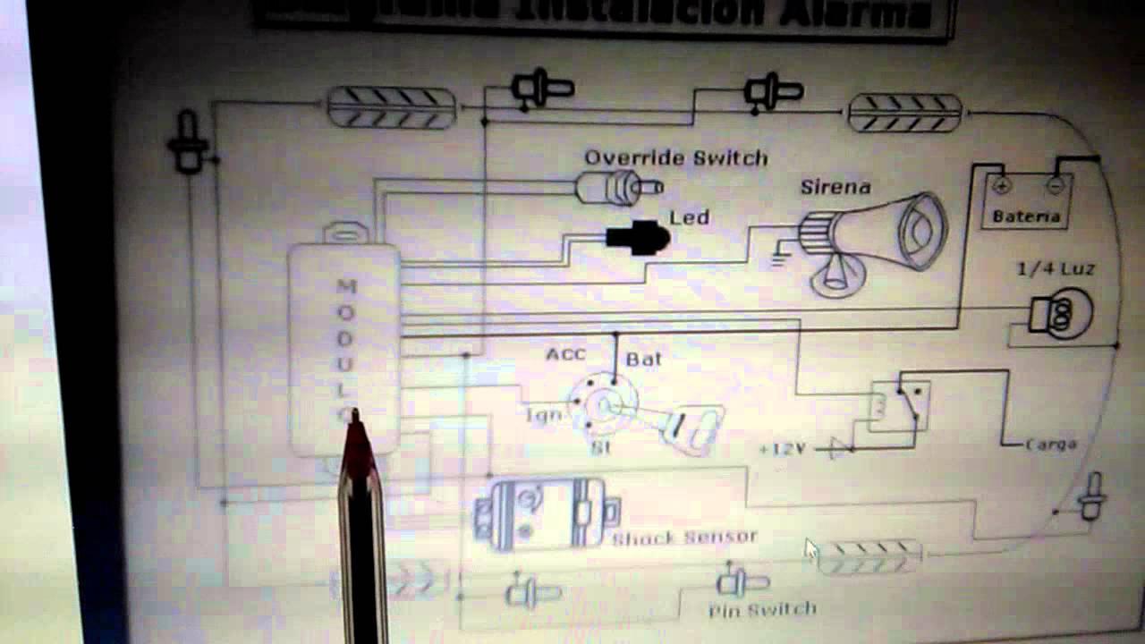 Diagrama de instalacion de alarma youtube for Instalacion de alarmas