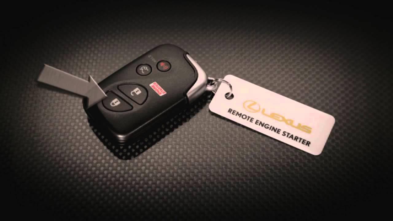 Lexus Key Fob >> 2010 Lexus RX 350 Remote Start - YouTube