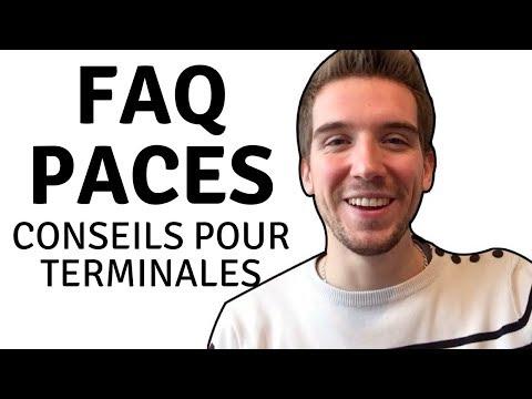 PACES: CONSEILS POUR TERMINALES