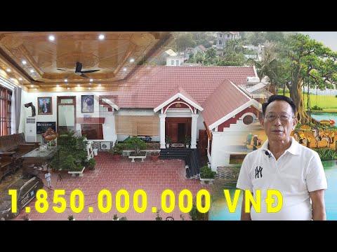 Mẫu Nhà Vườn 260m2 Đẹp Như Mơ Giá 1.85 Tỷ Tại Vĩnh Bảo - Hải Phòng