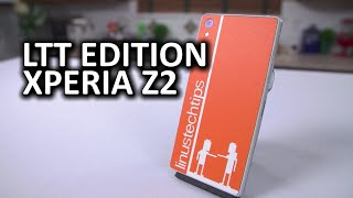 Xperia Z2 Phone from Sony with Custom LTT Skin from dbrand... and a Surprise!