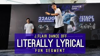 Hakem x Luqman x Wei Sheng x Brennan | Literally Lyrical | J.Flair Dance Off | RPProductions