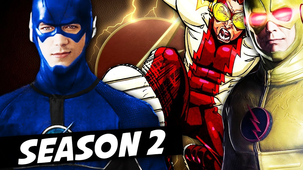 Flash Season 2 Watch