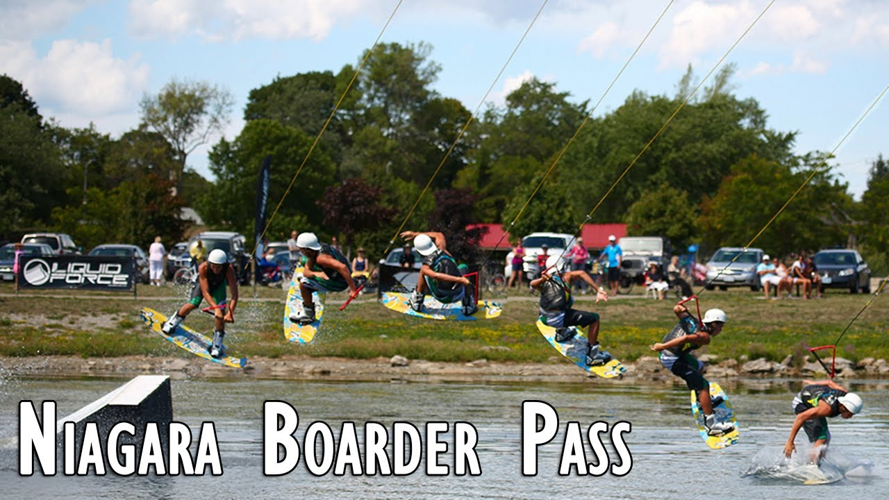 Niagara Boarder Pass -  Wakeboard & Wakeskate Cable Series 2012 (2)