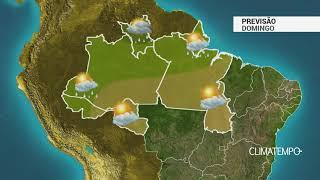 Previsão Norte – Poucas pancadas de chuva