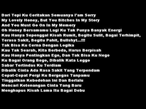 Ecko Show   Pergilah  Lyrics