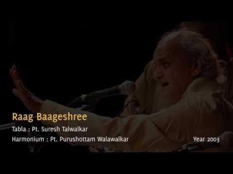 Pt. Ulhas Kashalkar - Raag Baageshree  - Live concert 2003