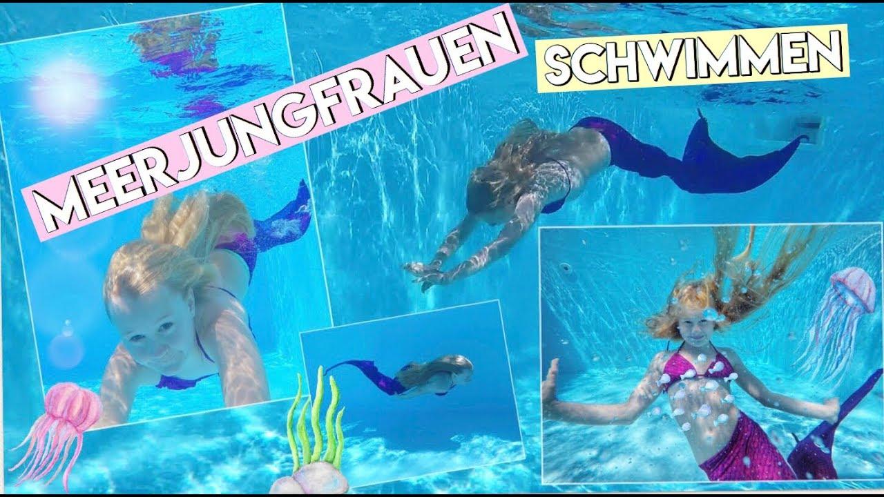 Meerjungfrau Flosse zum Schwimmen mit Flosse f/ür M/ädchen Fin Fun Monoflosse Inklusive Kinder und Erwachsene Jungen