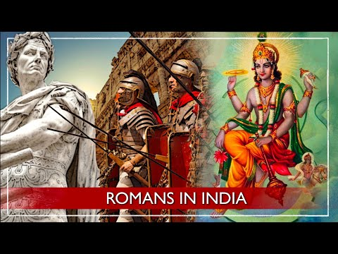 Roman Empire and ancient India - the Roman settlements of Muziris and Arikamedu in South India