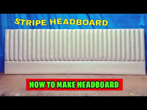 #stripeheadboard how to