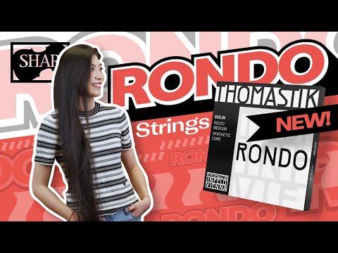 REVIEW: Rondo Violin Strings from Thomastik-Infeld